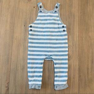 Cat & Jack | Blue & White Striped Cotton Overalls